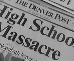 massacre, aesthetic, and columbine image