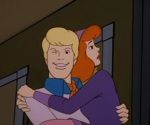 scooby doo, cartoon, and Fred image