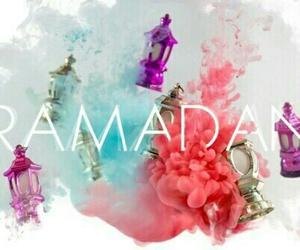 Ramadan and رمضان image