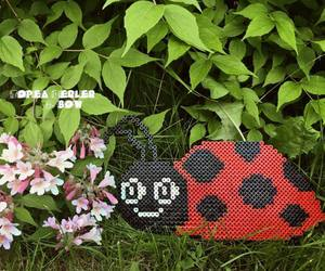 beads, hamabeads, and cute image