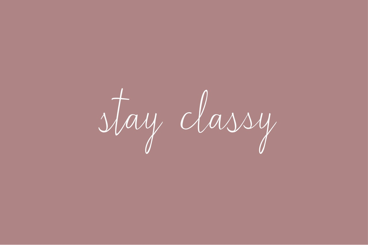 classy, pink, and stay classy image