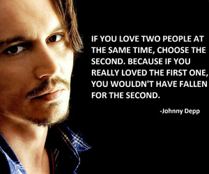 love, johnny depp, and quote image