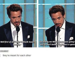 funny, lol, and iron man image