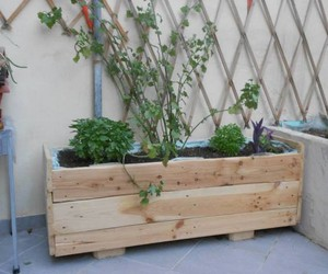 pallet projects, pallet planter boxes, and pallet planters image