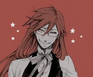 grell sutcliff, anime, and black butler image