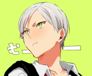 anime, haikyuu, and haiba lev image