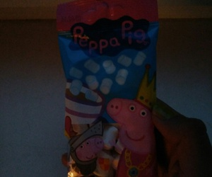 pink and peppapig image