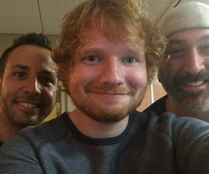 selfie, ed sheeran, and sheerios image