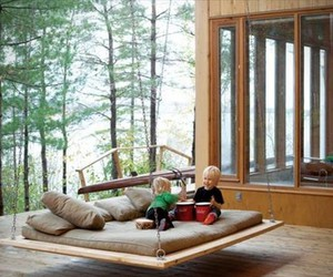 pallet swing and pallet swing bed image
