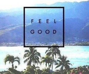 feel good and summer image