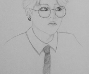 kpop, bts, and draw. image