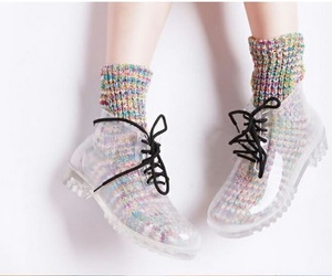 shoes, boots, and socks image