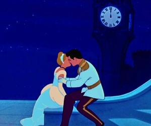 cinderella, disney, and kiss image