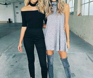 black, fashion, and girls image