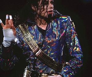 michael jackson, king, and dangerous tour image