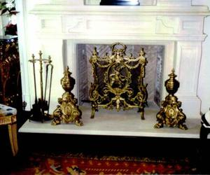 fireplace, wilshire fireplace shop, and fireplace screen image