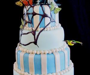 pastel, tim burton, and torta image