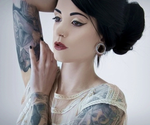 alternative, Tattoos, and cute image