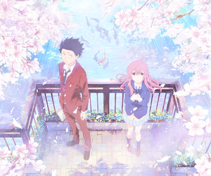 anime, koe no katachi, and shouya ishida image