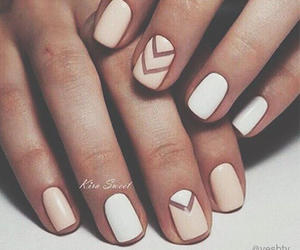 french, manicure, and nails image