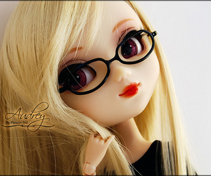 audrey, black, and doll image
