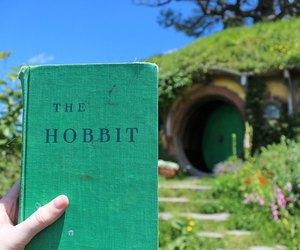 book, the hobbit, and hobbit image