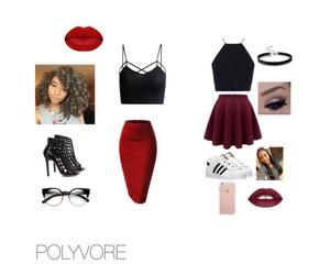 adidas, fashion, and Polyvore image