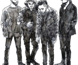 art, band, and the 1975 image
