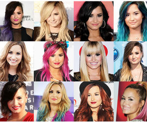 beauty, colorful, and demi image