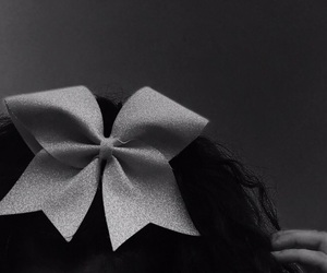 bow, cheer, and glitter image