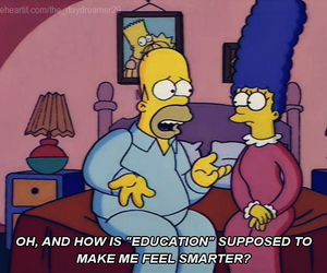homer, simpsons, and funny image