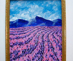 etsy, lavender fields, and mountain scenery image