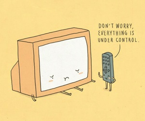 funny, control, and tv image