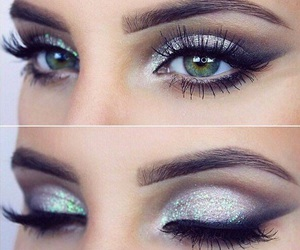makeup, style, and make up image