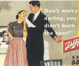 beer, funny, and vintage image
