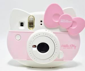 camera, hello kitty, and kawaii image