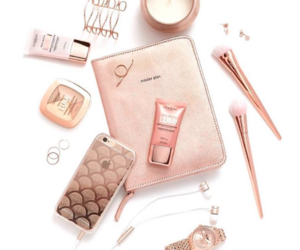 beauty, pink, and l'oreal makeup image