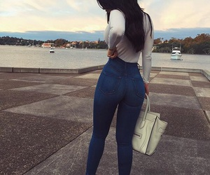 girl, style, and goals image