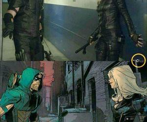 arrow, Black Canary, and cw image