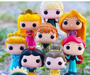 disney, princess, and funko pop image