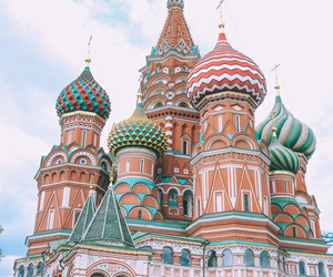 moscow, st. basil's cathedral, and russia image