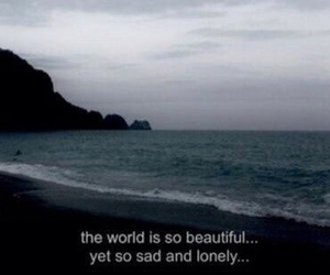 sad, lonely, and grunge image