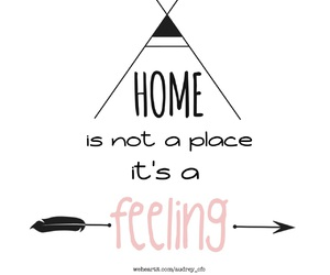 feeling and home image