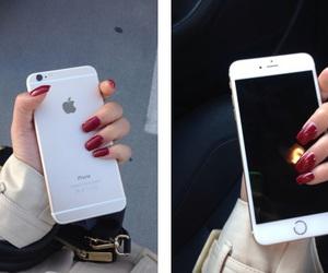 apple, fashion, and hand image
