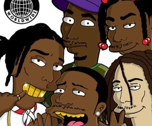 a$ap rocky and a$ap mob image