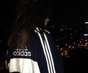 dark, adidas, and theme image