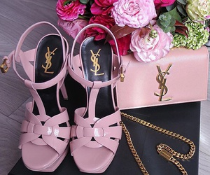 YSL and shoes image