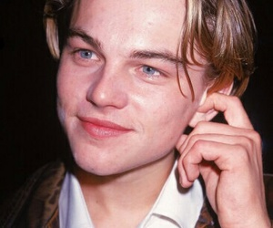 leonardo dicaprio, 90s, and young image