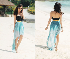 beach, outfit, and clothes image