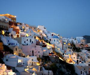 beach, Greece, and Island image